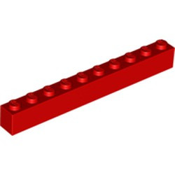 Red Brick 1 x 10