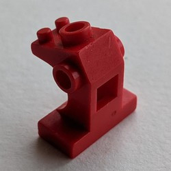 Red Minifigure, Utensil Control Panel