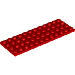 Red Plate 4 x 12 - new