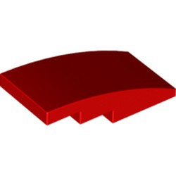 Red Slope, Curved 4 x 2