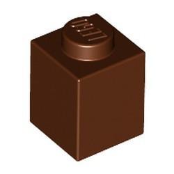 Reddish Brown Brick 1 x 1 - new