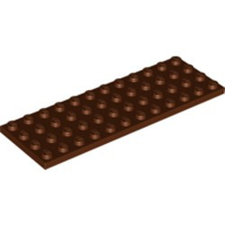 Reddish Brown Plate 4 x 12 - new