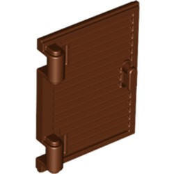 Reddish Brown Shutter for Window 1 x 2 x 3 with Hinges and Handle - new