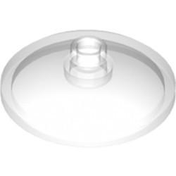 Trans-Clear Dish 3 x 3 Inverted (Radar)
