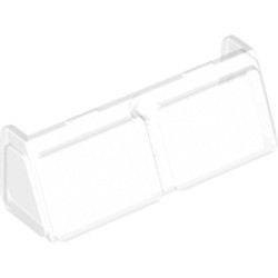 Trans-Clear Glass for Windscreen 2 x 6 x 2 Train - new
