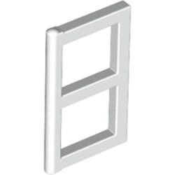White Pane for Window 1 x 2 x 3