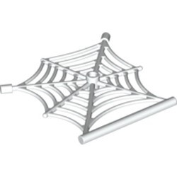 White Spider Web with Bar