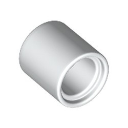 White Technic, Liftarm Thick 1 x 1 - [Formerly Connector Pin Round (1L Spacer) - new]