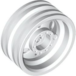 White Wheel 30mm D. x 14mm (for Tire 43.2 x 14)