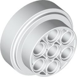 White Wheel 31mm D. x 15mm Technic - new