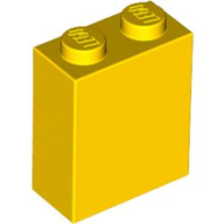 Yellow Brick 1 x 2 x 2 with Inside Axle Holder