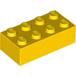 Yellow Brick 2 x 4 - used