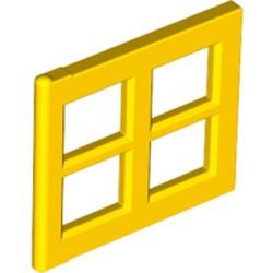 Yellow Pane for Window 2 x 4 x 3 - used