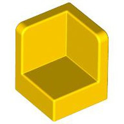 Yellow Panel 1 x 1 x 1 Corner - new