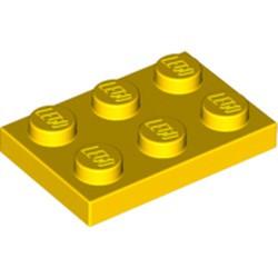Yellow Plate 2 x 3
