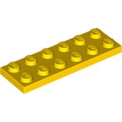Yellow Plate 2 x 6