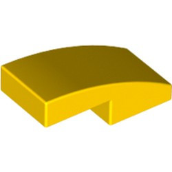 Yellow Slope, Curved 2 x 1 - used