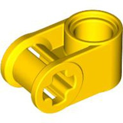 Yellow Technic, Axle and Pin Connector Perpendicular - new