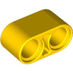 Yellow Technic, Liftarm 1 x 2 Thick - new