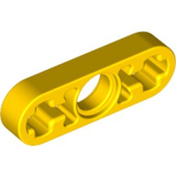 Yellow Technic, Liftarm Thin 1 x 3 - Axle Holes