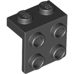 Black Bracket 1 x 2 - 2 x 2 - used