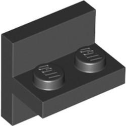Black Bracket 2 x 2 - 1 x 2 Centered