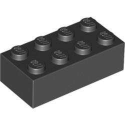 Black Brick 2 x 4 - used