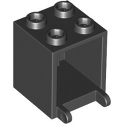 Black Container, Box 2 x 2 x 2