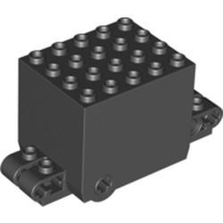 Black Flywheel Inertia Motor 9 x 4 x 3 2/3 - used