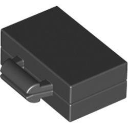 Black Minifigure, Utensil Briefcase / Suitcase