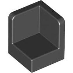 Black Panel 1 x 1 x 1 Corner - used