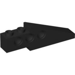 Black Technic Slope 33 6 x 1 x 1 2/3 Long (Wing Back) - used
