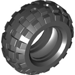 Black Tire 56 x 26 Balloon - used