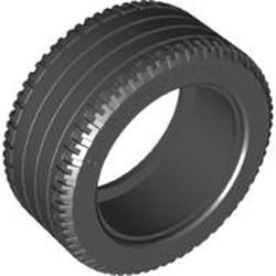 Black Tire 81.6 x 36 R Technic Straight Tread - new