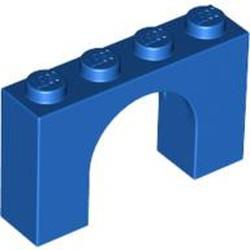 Blue Brick, Arch 1 x 4 x 2 - used