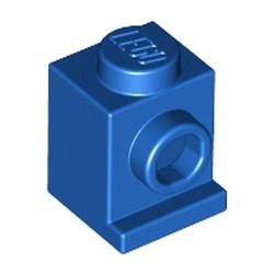 Blue Brick, Modified 1 x 1 with Headlight - new