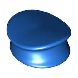 Blue Minifigure, Headgear Hat, Police - used