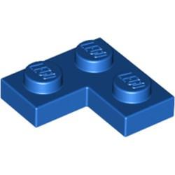 Blue Plate 2 x 2 Corner - used