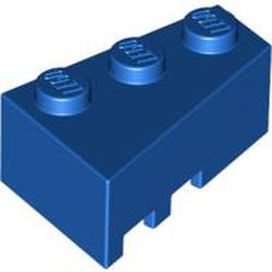 Blue Wedge 3 x 2 Right