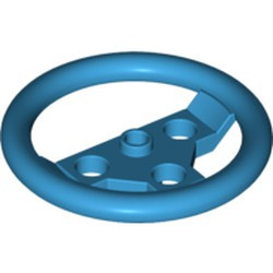 Dark Azure Technic, Steering Wheel Large - used