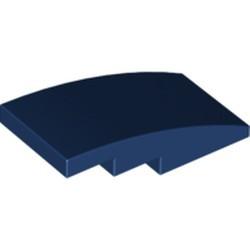Dark Blue Slope, Curved 4 x 2 - used