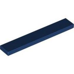 Dark Blue Tile 1 x 6 - used