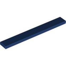 Dark Blue Tile 1 x 8 - new