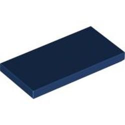 Dark Blue Tile 2 x 4 - new