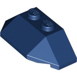 Dark Blue Wedge 2 x 4 Triple