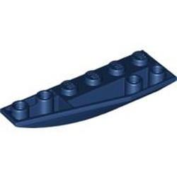 Dark Blue Wedge 6 x 2 Inverted Left - used