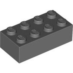 Dark Bluish Gray Brick 2 x 4