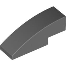 Dark Bluish Gray Slope, Curved 3 x 1
