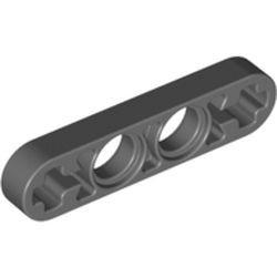 Dark Bluish Gray Technic, Liftarm Thin 1 x 4 - Axle Holes