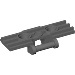 Dark Bluish Gray Technic, Link Tread Wide with Two Pin Holes